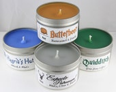Harry Potter Inspired Candle Set of Three