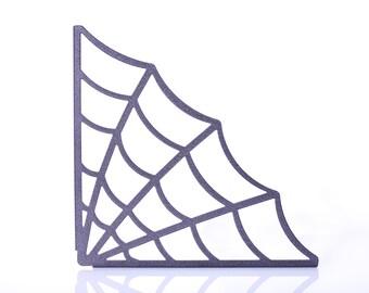 Spiderweb Shelf Brackets - Black