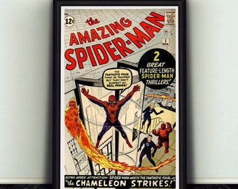 11x17 Amazing Spider-Man #1 Comic Book Cover Poster Print