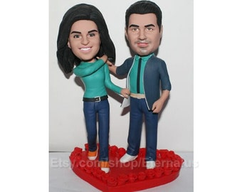 custom wedding cake topper, Personalized bride and groom Cake Topper, Custom Cake Topper,  Custom Wedding Cake Toppers