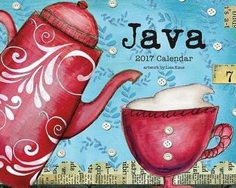 2017 Coffee Wall  Calendar by Lisa Kaus