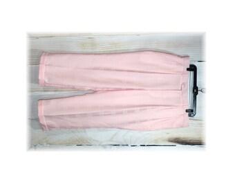 Pastel Pink Pants / Gatsby Pants / Pastel Pleated Pants -40W (F30)