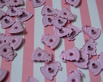 40 Ecru Wedding Cake Eyelets for Scrapbooking