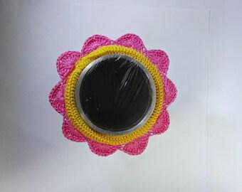 Camera lens buddy, camera accessories, lens buddy, crochet lens critter, crochet flower, photographer helper, photo prop, family photography