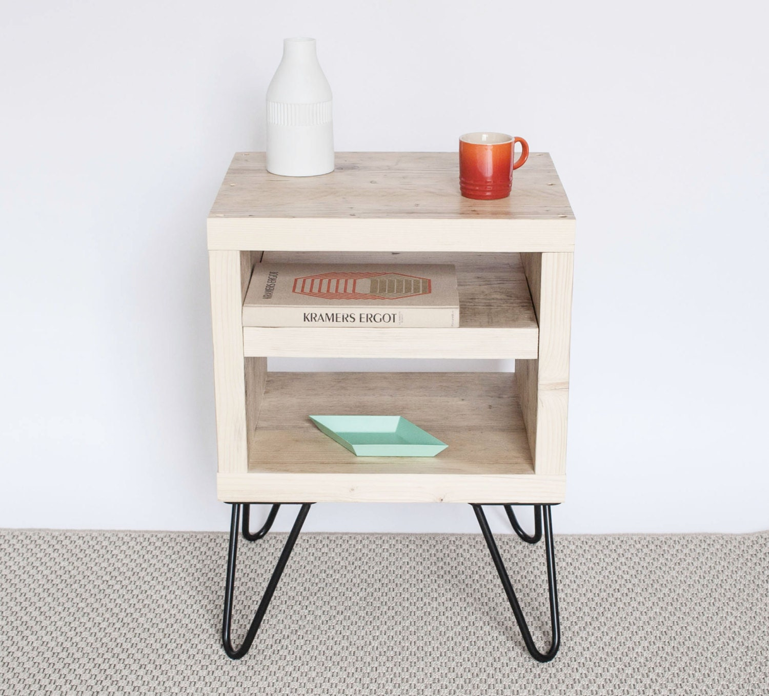 Ayesha Bedside Table Side Table Small Table Natural Wood