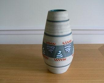Carstens 1950's Austrian Ceramic Art Vase.