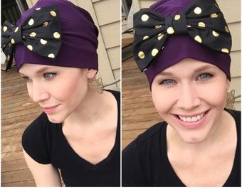 Old Hollywood Chemo Hat