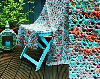 MERMAID crochet shawl