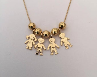 mothers day gift, Mothers Necklace, Mommy necklace, Children neckles, My Children Pendant Necklace, Kids Pendant Necklace, gift for mom
