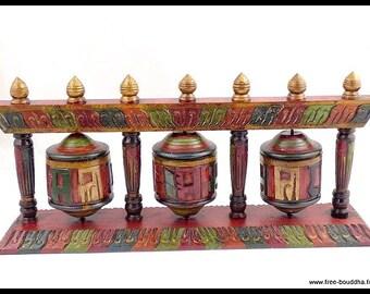 MILL A prayer Buddhist Tibetan door incense mantras zen meditation Buddha temple ritual ref803.1
