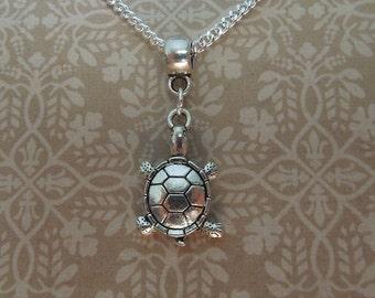 Turtle Necklace - Sea Turtle Necklace - Sea Life Necklace - Beach Necklace - Hawaii Necklace