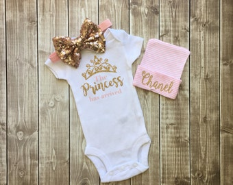 SALE - The Princess Has Arrived Bodysuit