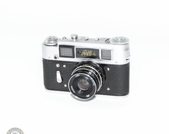 Vintage Camera FED-4 S/N: 6661046 USSR Camera for collection #F4_1
