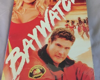 Baywatch: Season 2 starring David Hasselhoff and Pamela Anderson; Adventurous lifeguards