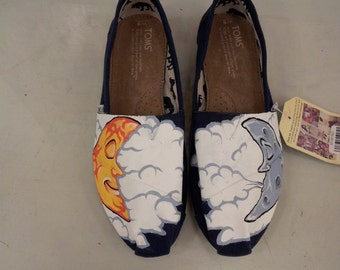 Toms Shoes Customized Sun & Moon