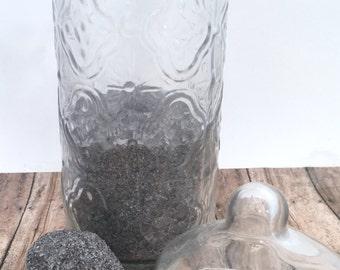 Cashmere Bath Salt, Detox Bath Salt, Herbal Bath Salt, Mineral Bath Salt, Vegan Bath Salt, Saffron Bath Salt, 8 oz Bag