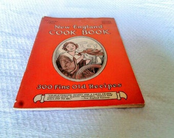 The New England Cook Book of Fine Old Recipes   1956