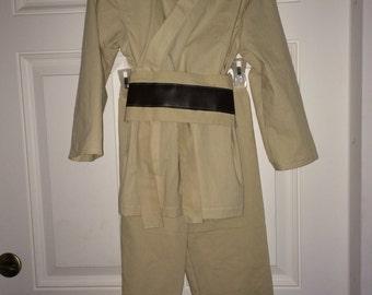 Luke Skywalker Costume Star Wars Children's size 6-8