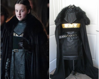 Lyanna Mormont Outfit; Game Of Thrones Cosplay; GoT Cosplay; Game Of Thrones Costume; Lyanna Costume; Mormont Costume;