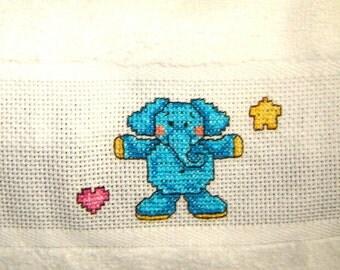 Cross Stitch Bib Etsy