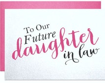Future daughter in law wedding card for daughter in law from parents ...