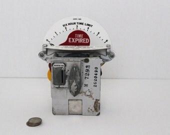 Vintage Industrial Parking Meter Mechanism