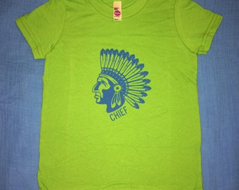 "Native American ""Chief"" Kid's T-Shirt"