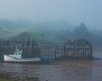 Fishing Boat in the Fog