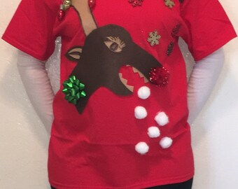 Ugly Christmas Sweater Tee