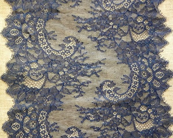 """Lace table runner,  13"""" , lace table topper,  lace overlay, lace table overlay, wedding table decor, wedding table runner R15110401"""