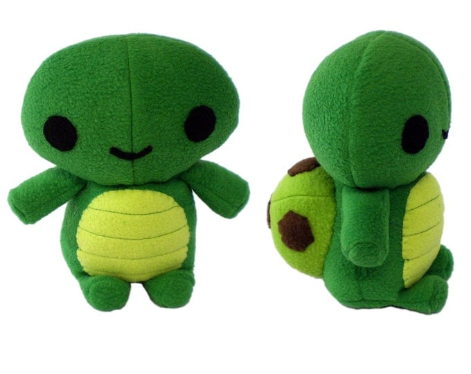 Plush Turtle Sewing Pattern