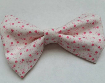 Ainsley- hot pink heart floral