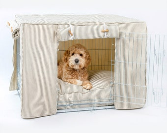 Custom Made Dog Crate Cover