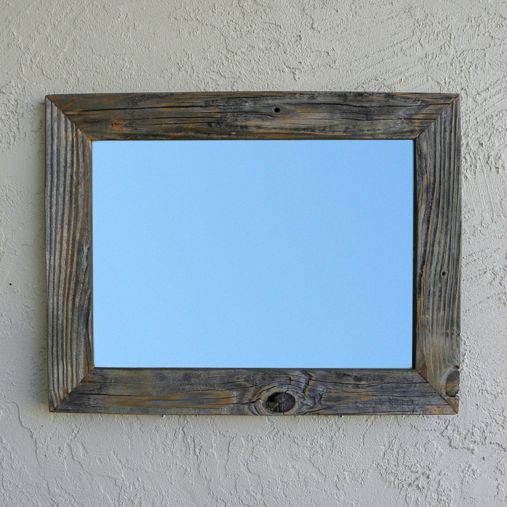 Reclaimed wood mirror rustic decor eco friendly large