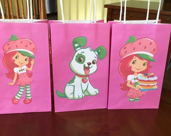 Strawberry Shortcake favor bags-1 per order