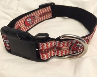 San Francisco 49ers Dog collar