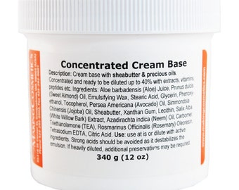 Concentrated Cream Base