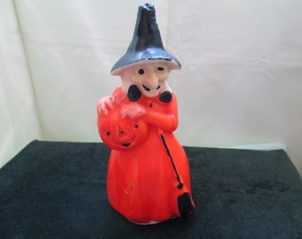 "Gurley Witch Candle  8 3/4""  from  1950's"