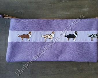 Aussie - cosmetiv bag, utility pouch, purse