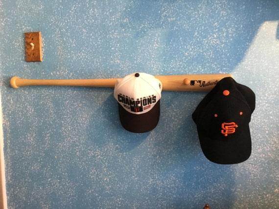 baseball bat hat or coat rack hanger