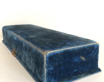 Antique Velvet Box