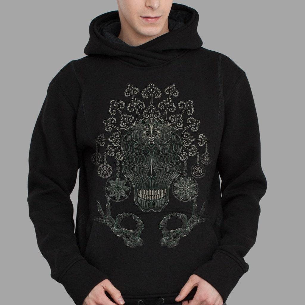 Ayahuasca Clothing Psychedelic Men Hoodie Festival Hoodie in