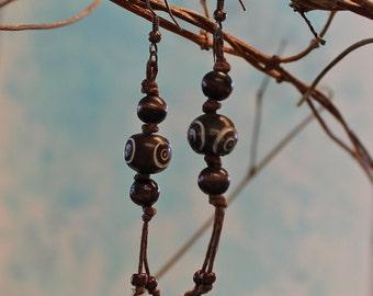 Natural Material Earrings