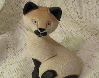Rinconada Siamese Cat Figurine