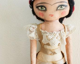 Frida Kahlo Art Doll No.1