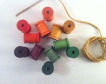 Stacking Counting Lacing Wooden Toy // Montessori Math Manipulatives // Waldorf Patterning Game // Natural Handmade // Nursery Decor