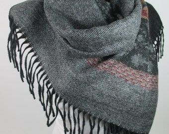 Blanket Scarf Aztec Scarf Tribal Scarf Boho Scarf Bohemian Winter Scarf Women Fashion Accessories Gift Ideas For Her Christmas Gifts