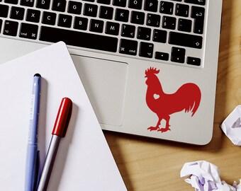 Rooster sticker rooster decal Car Laptop Vinyl Decal Sticker farm sticker