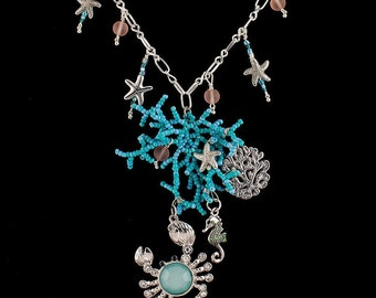 Undersea Coral Reef Necklace