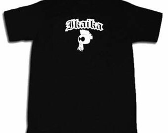 Ikaika T-shirt Hawaian Strength Hawaii  Maui Kaua'i O'ahu Pidgin Kanaka Tee Shirt